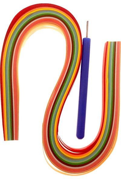 hobi24 Quilling Seti, Kağıt + Kıvırma Aparatı 52 x 0.7Cm
