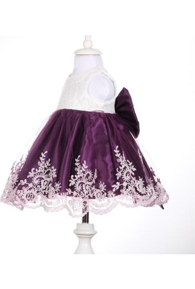 Bebeğime Cici Kız Bebek Mor Elbise Mevlüt Ve Özel Gün Elbisesi