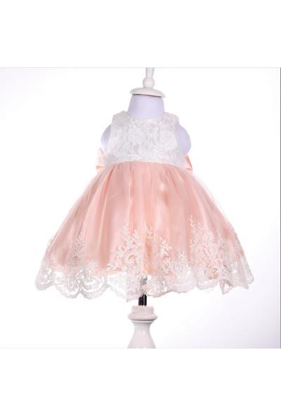 Bebeğime Cici Kız Bebek Pudra Elbise Mevlüt Ve Özel Gün Elbisesi