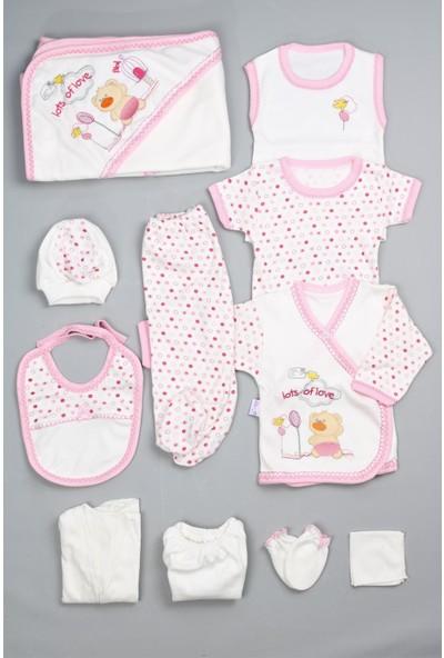 Bebeğime Cici Kız Bebek Pembe Hastane Çıkışı