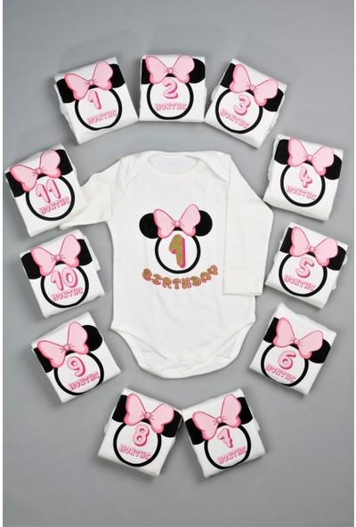 Bebeğime Cici Kız Bebek 1 Aydan 1 Yaşa Albümlük Body Takımı