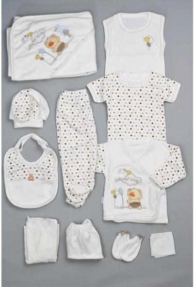 Bebeğime Cici Erkek Bebek 10'lu Sevimli Ayıcık Kahverengi Hastane Çıkışı