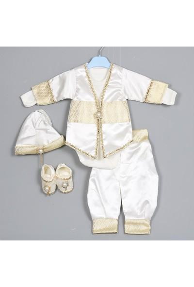 Bebeğime Cici Erkek Bebek 5'li Lüks Mevlüt - Sünnet Takımı