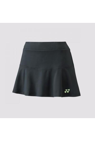 Yonex 26041 Kadın Antrasit Tenis Etek Avustralya Açık Koleksiyonu