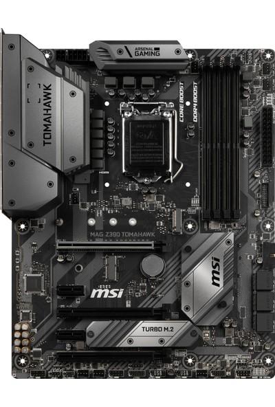 MSI MAG Z390 TOMAHAWK SOKET 1151 DDR4 4400(OC) HDM DP M.2 USB3.1 RGB ATX