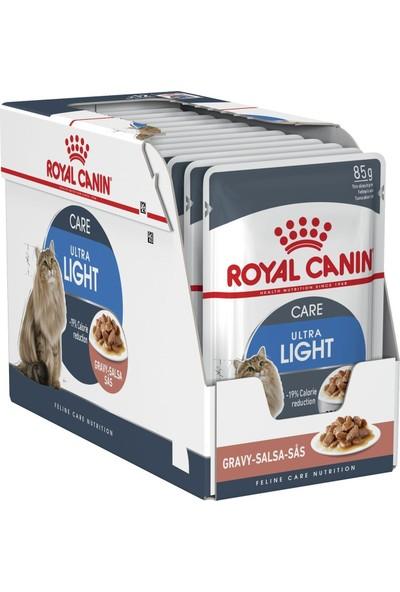 Royal Canin Fhn Ultra Light Yetişkin Kedi Konservesi 85 Gr X 12