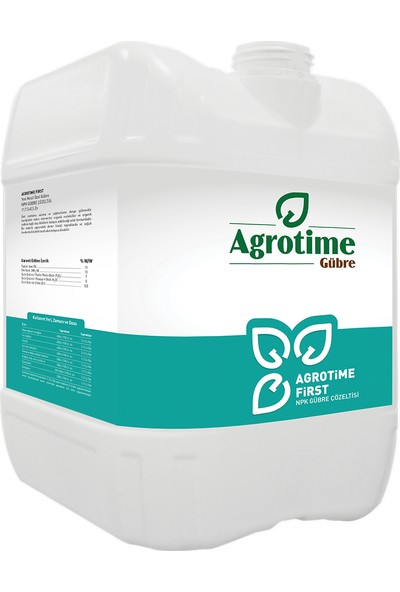 Agrotime First 11.7.5+0,5 Zn 20 Litre