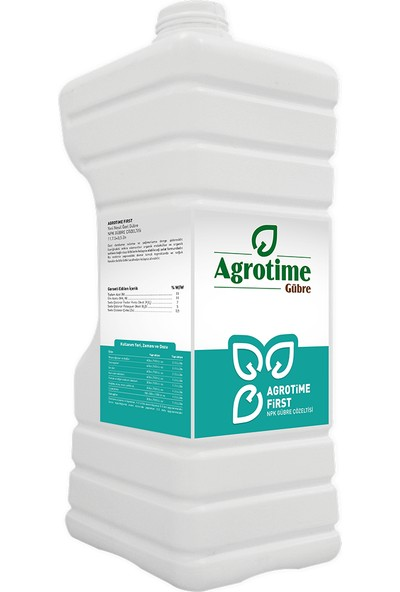 Agrotime First 11.7.5+0,5 Zn 5 Litre