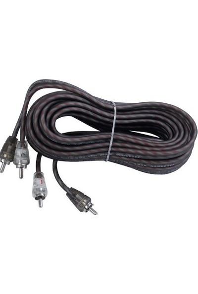 Soundmagus SM-500 5 Metre Silikon Rca Kablo