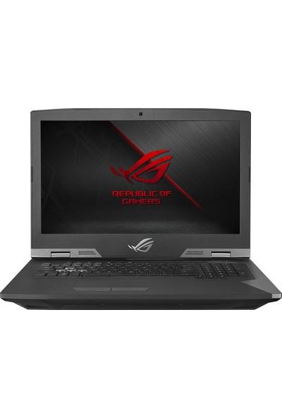 """Asus ROG G703GI-73500T Intel Core i7 8750H 32GB 1TB + 256x2GB SSD GTX1080 Windows 10 Home 17.3"""" FHD Taşınabilir Bilgisayar"""
