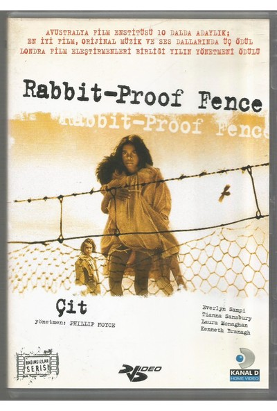 Çit Rabbit-Proof Fence Dvd