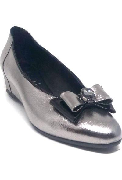 Shop And Shoes 001-1502384 Kadın Ayakkabı Çelik