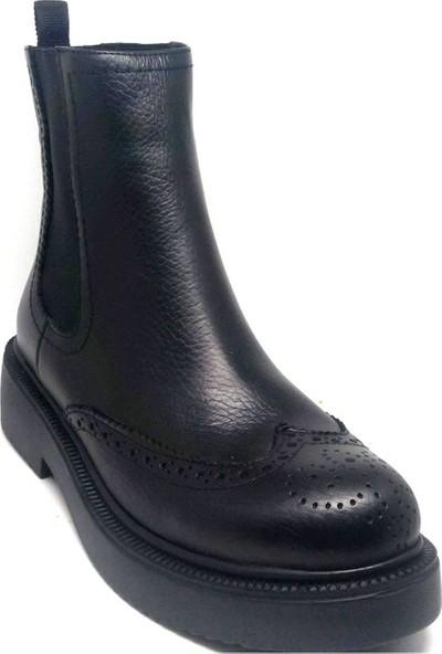 Shop And Shoes 007-1135295 Kadın Bot Siyah