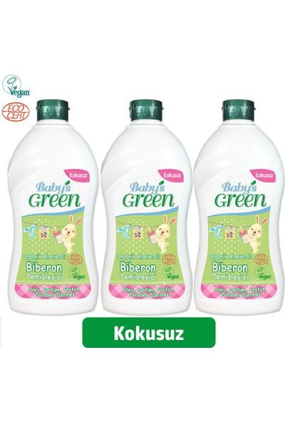 Baby'S Green Organik Aloe Veralı Kokusuz Biberon Temizleyici 3 x 500 ml