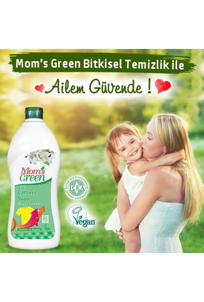 Mom's Green Bitkisel Çamaşır Suyu - Beyaz Çiçekler