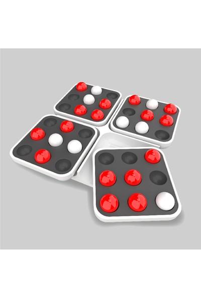 Redka Beş Nokta Zeka Mantık ve Strateji Oyunu (Akıl Oyunları) Pentago Othello