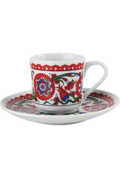 Porland Hümayun Türk Kahve Fincanı 6'lı 72 cc