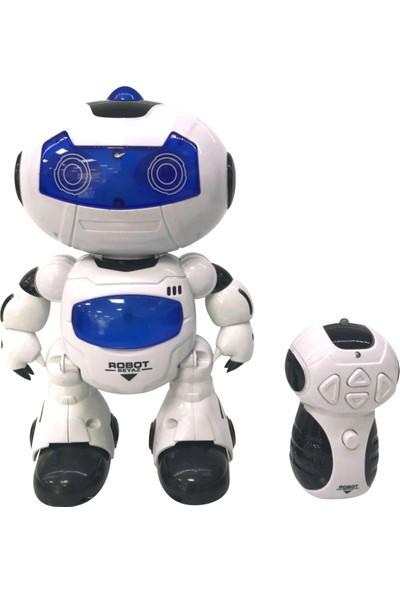 Erdem Uzaktan Kumandalı Beyaz Robot Er-01Rb