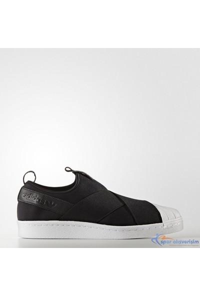 Adidas Erkek Günlük Ayakkabı BZ0112 SUPERSTAR SlipOn SUPERSTAR SlipOn