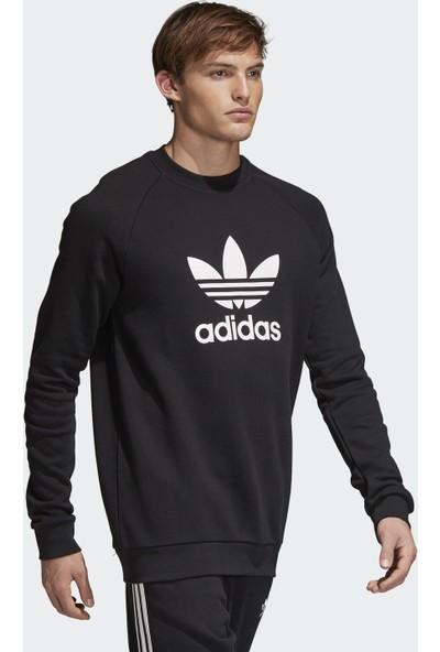 adidas Erkek Günlük Sweatshirt Cw1235 Trefoil Crew