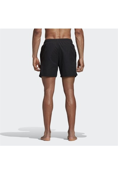 Adidas Erkek Yüzücü Şortu Spor Siyah Cv7111 Solid Sh Sl