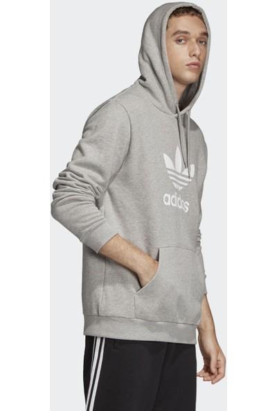 adidas Erkek Günlük Kapşonlu Sweat Dt7963 Trefoil Hoodie