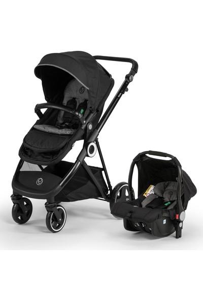 Elele Ranger Travel Sistem Bebek Arabası Siyah