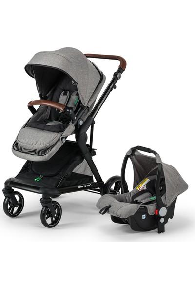 Elele Allroad Travel Sistem Bebek Arabası Gri