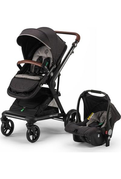 Elele Allroad Travel Sistem Bebek Arabası Siyah