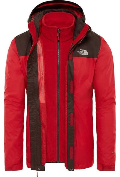 The North Face Tnf Bıttersweet Brwn/Rage Red T0Cg556K00