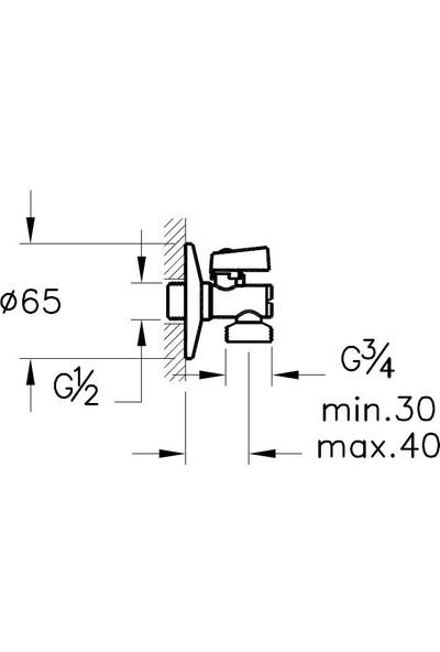 Artema Filtreli Çamaşır Musluğu A45228, Krom