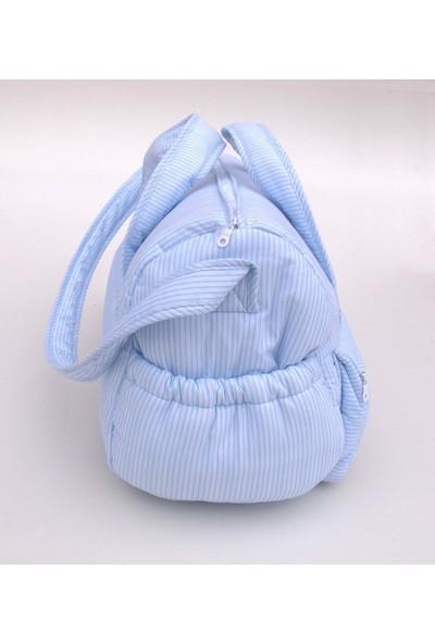 Blue & Pink Bebek Bakım Çantası