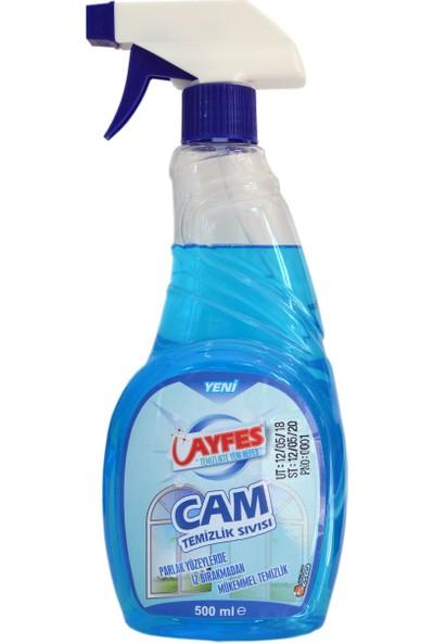 Ayfes Cam Temizlik Sıvısı 500 ml 20 Li
