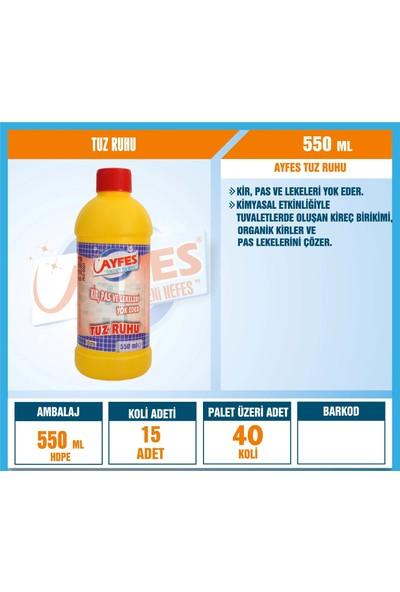 Ayfes Tuz Ruhu 550 ml 15 Li