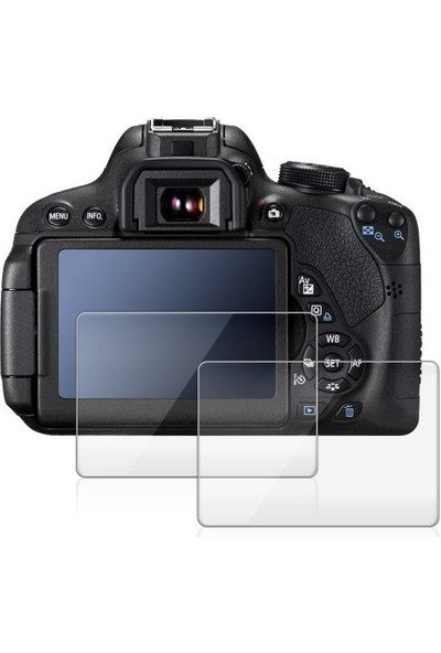 Ayex Sony A7 Iı İçin 2 Ad. Lcd Ekran Koruyucu