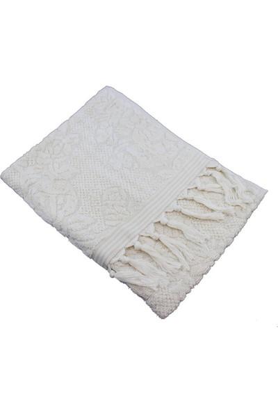 Unicolor Osmanlı Havlu-Beyaz