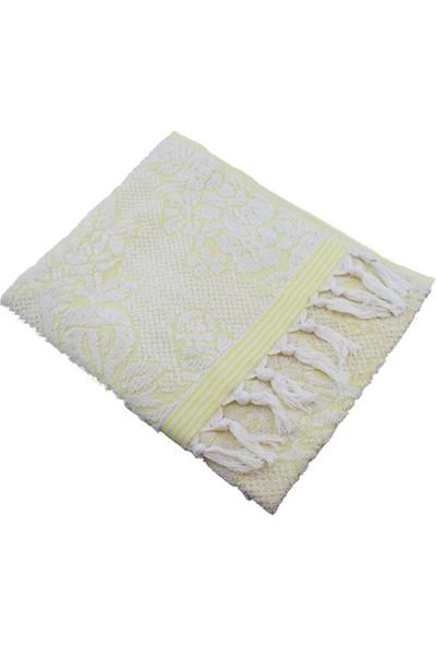Unicolor Osmanlı Havlu-Sarı