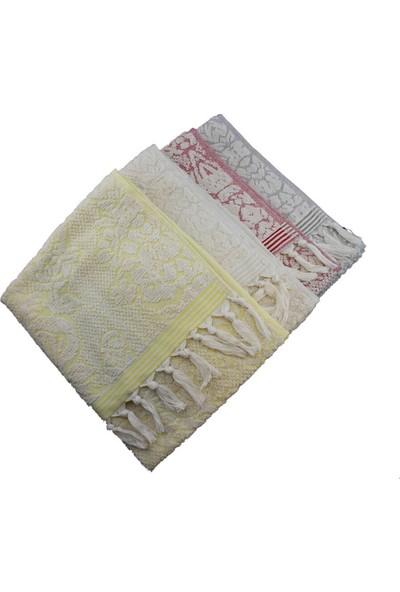 Unicolor Osmanlı Havlu Takımı Dörtlü