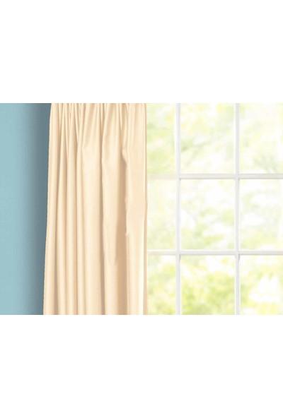 Evsa Home Lüx Saten Krem Güneşlik - 275x100 cm