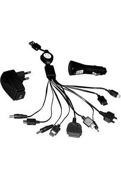 Winnboss USB Çoklu Şarj Cihazı WN-1029 1000mAh