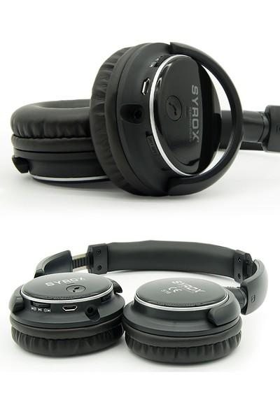 Syrox S16 Kablosuz Bluetooth Kulak Üstü Kulaklık
