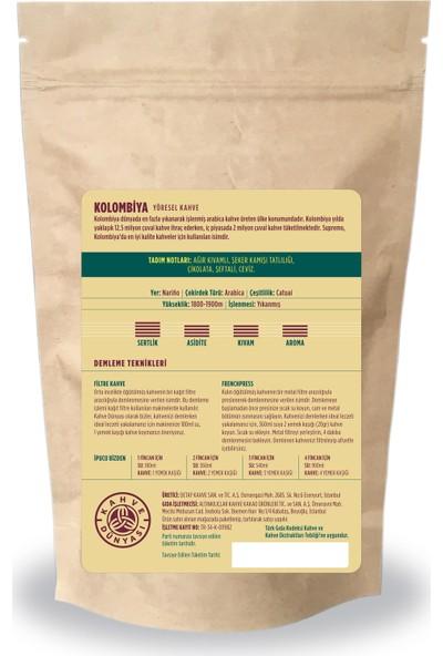 Kahve Dünyası Kolombiya Yöresel Metal Kahve 200 gr