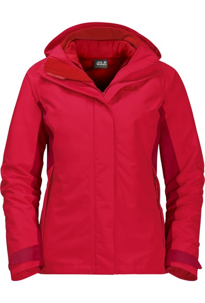 Jack Wolfskın Iceland Voyage 3In1 Women Outdoor Ceketi
