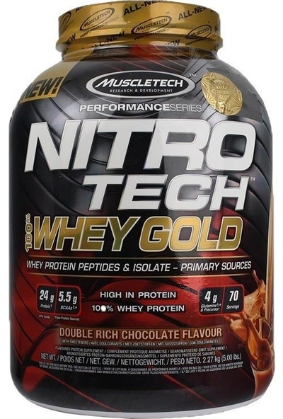 Muscletech Nitrotech %100 Whey Gold Protein 2270 Gr Çikolata