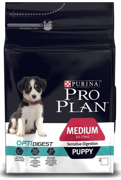Pro Plan Puppy Medium Lamb Kuzulu Orta Boy Irk Yavru Köpek Maması 3 Kg