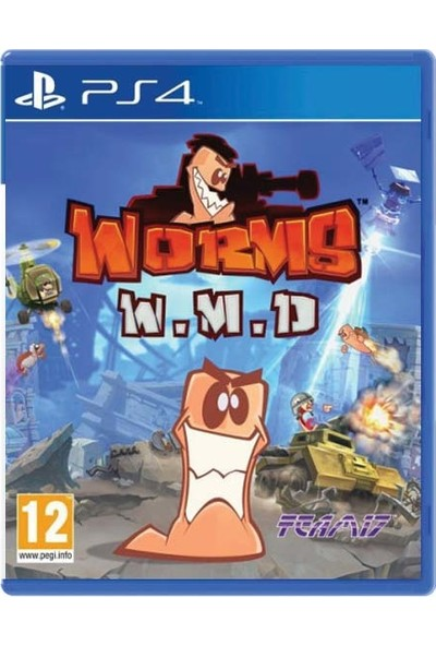 Team 17 Worms W.M.D Ps4 Oyun
