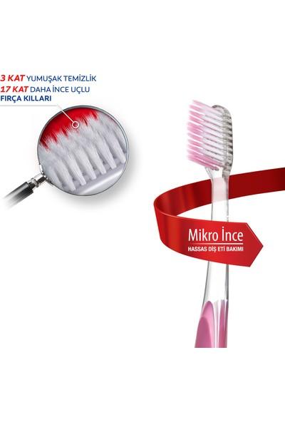 Colgate Diş Macunu Hassasiyete Pro Çözüm Beyazlatıcı 75 ml + Mikro İnce Diş Fırçası