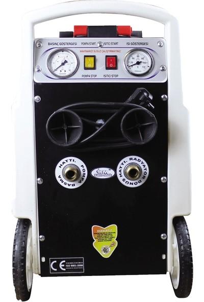 Kammak PROF 01 Isıtıcılı Petek Temizleme makinesi Depo Yanmalara Karşı Korumalı
