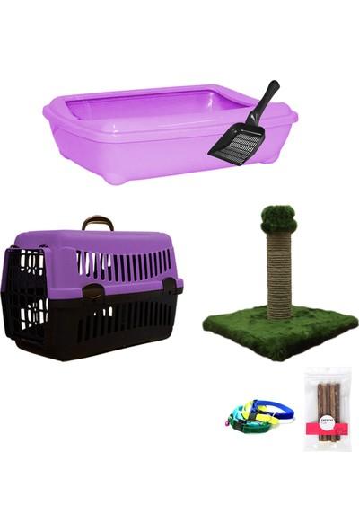 Petfony Açık Kedi Tuvaleti,Kedi Taşıma Çantası,Kedi Tırmalama Tahtası