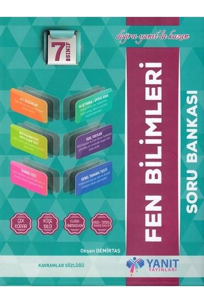 Yanıt Yayınları 7.Sınıf Fen Bilimleri Soru Bankası